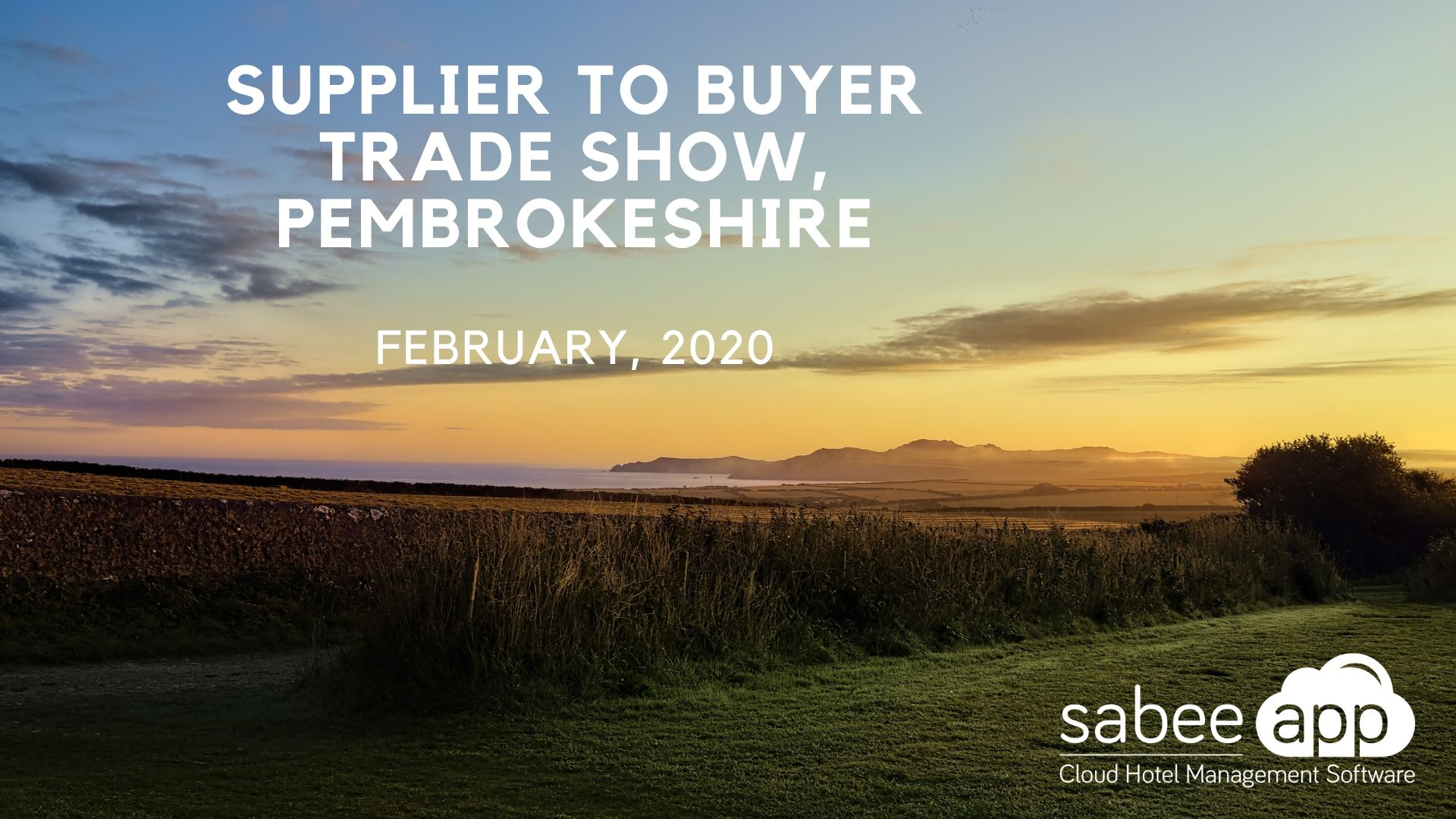 Supplier to buyer trade show, Pembrokeshire