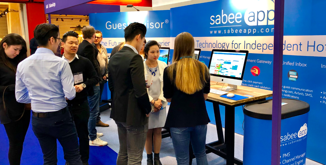 sabeeapp in IHS Amsterdam